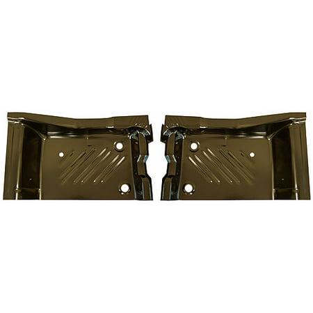 Challenger Pan - Auto Metal Direct 410-2571-P 71-74 Dodge Challenger Rear Floor Pan Footwell Pair
