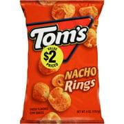 Tom's Nacho Rings, 6 Oz
