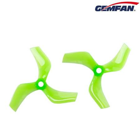 Gemfan 75mm Ducted Durable 3-Blade - Green 75 Mm 78a Green