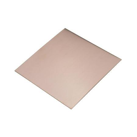 "6"" x 6"" Copper Sheet 26 Gauge Jewelry Making Metal Forming Stamping Embossing Etching Blanks - MET-705.26"