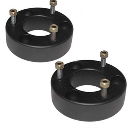 - Airbagit LEVEL-GM-1500-F-3 Lift Chevy Gmc 3 in. 2007 - 2015 Front Leveling Billet Spacers