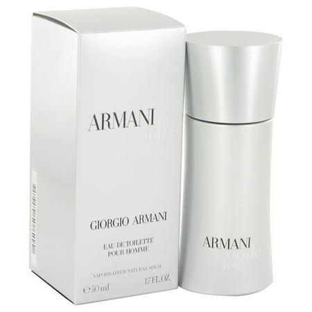 10e0c681f Armani Code Ice by Giorgio Armani Eau De Toilette Spray 1.7 oz for Men -  Walmart.com