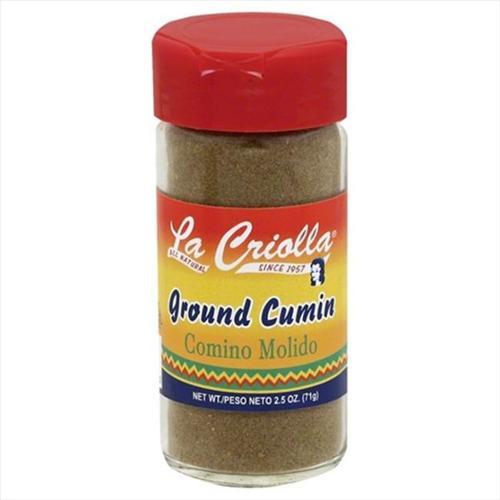 La Criolla 2. 5 oz.  Ground Cumin, Case Of 12