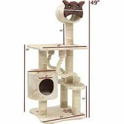 "Majestic Pet Products 49"" Casita Fur Cat Tree"