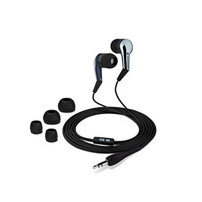sennheiser cx 55 lightweight in-ear street style stereo headphone (discontinued by manufacturer)