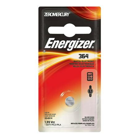 12-Cards 364 / SR621SW Energizer Silver Oxide Button Batteries - image 1 de 1