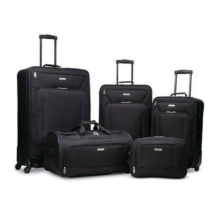 American Tourister Fieldbrook XLT 5 Piece Softside Luggage Set American Tourister Ilite Luggage