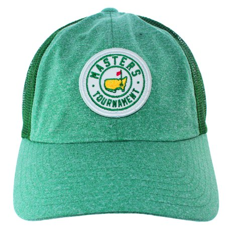 Augusta National Masters (NEW Masters Tournament Augusta National Heather Green Adjustable Trucker Hat/Cap)