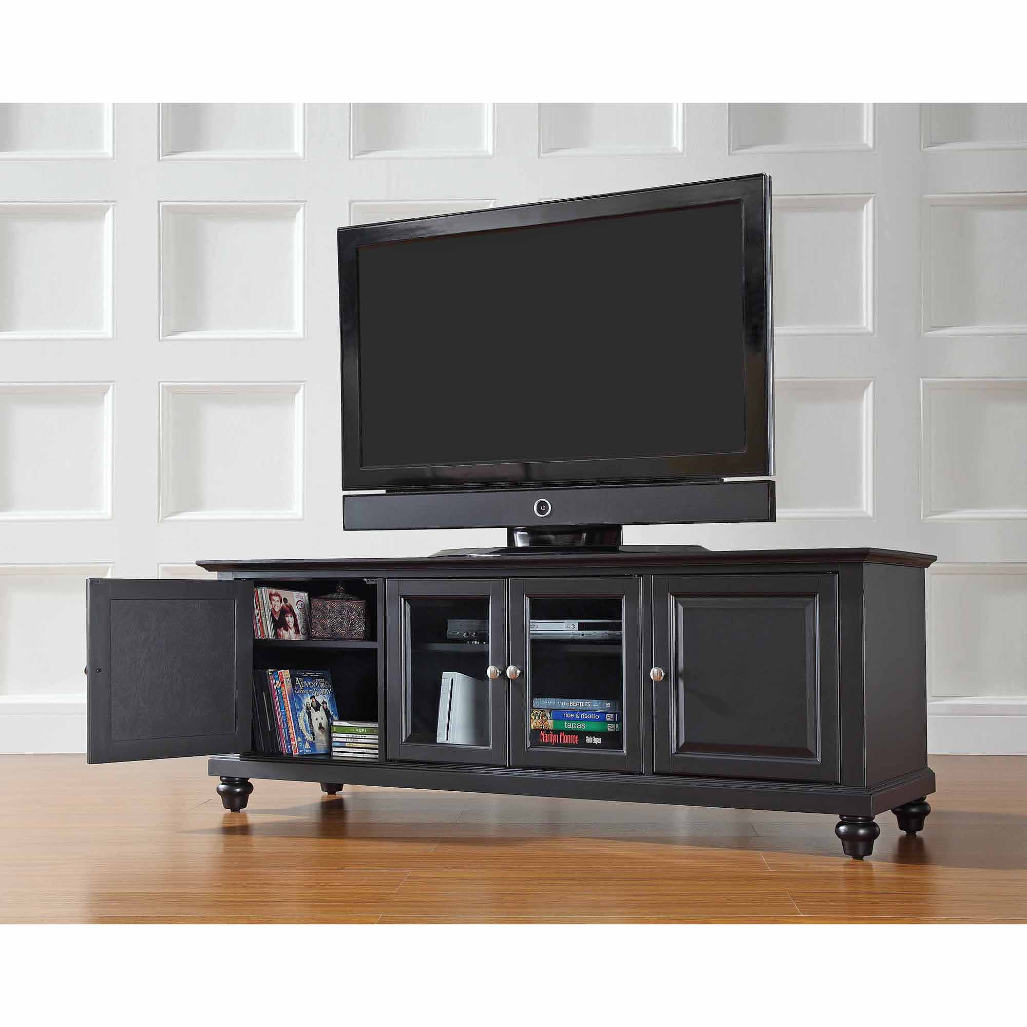 Crosley Furniture Cambridge Low Profile TV Stand for TVs up to 60""