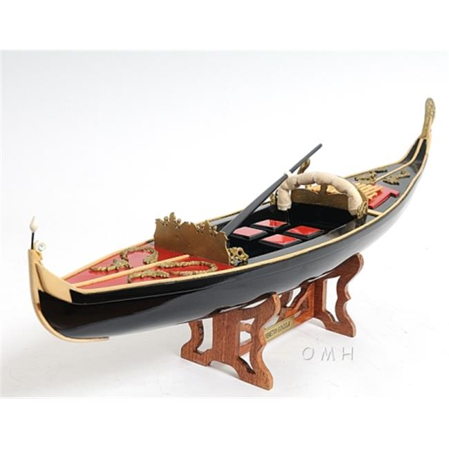 Old Modern Handicrafts B083 Venetian Gondola by Old Modern Handicrafts