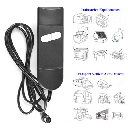 Electric Recliner Switch Remote Control 2 Button Power Lift Chair Recliner Hand Control