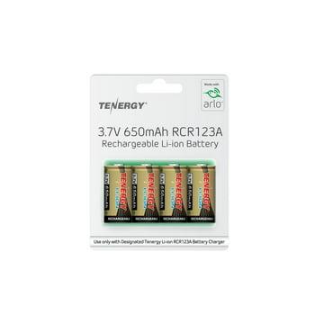 4 Pk Tenergy 3.7V Li-ion Rechargeable Batteries