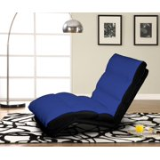 Turbo Convertible Chaise Lounger-Color:Blue