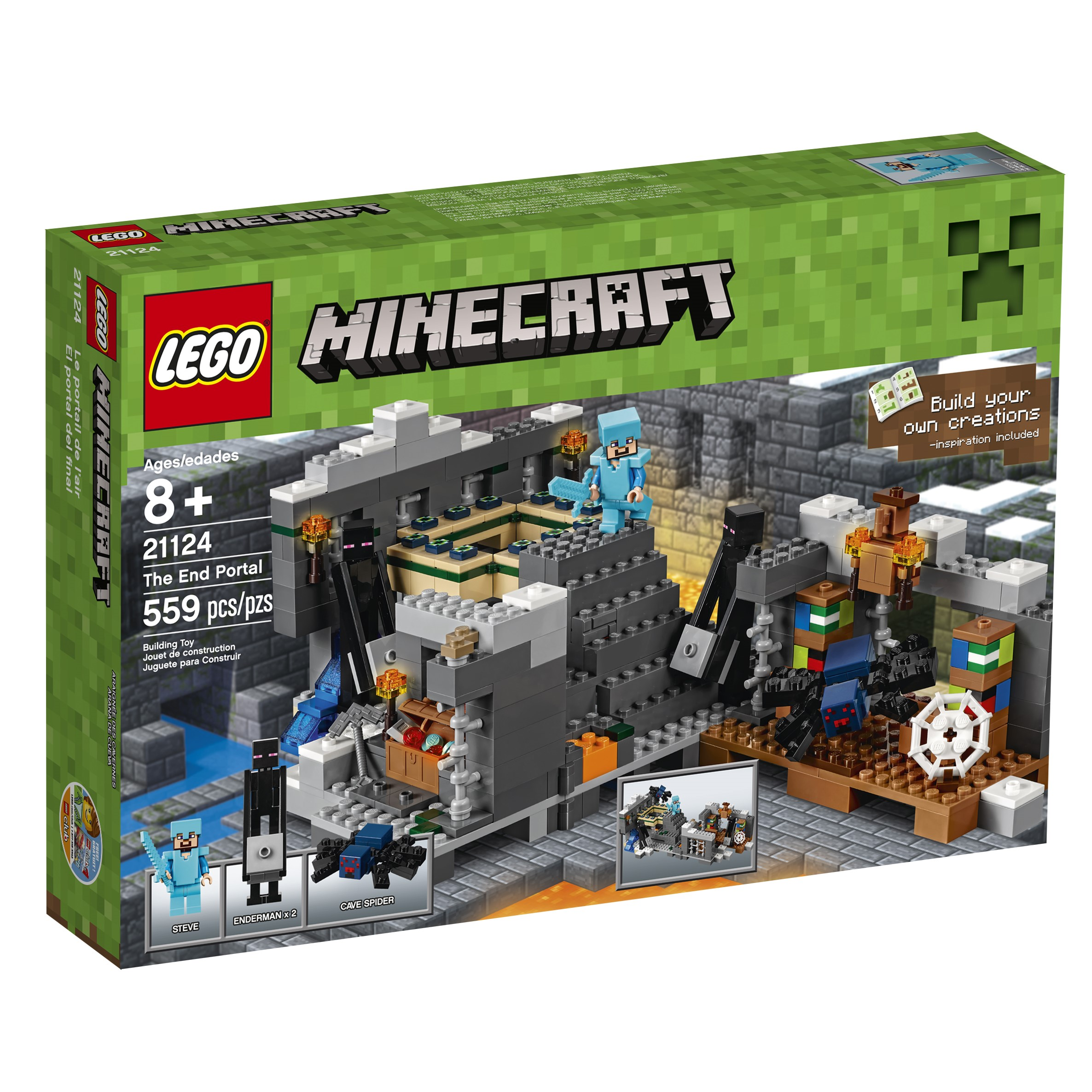Lego Minecraft The End Portal 21124 by Lego