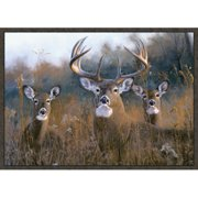 Custom Printed Rugs Buck Stops Here Doormat