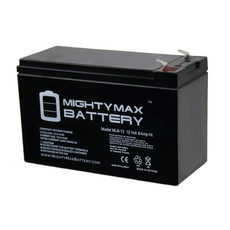 12V 8Ah UPS Battery Replaces 7Ah 28W BB Battery SH1228W