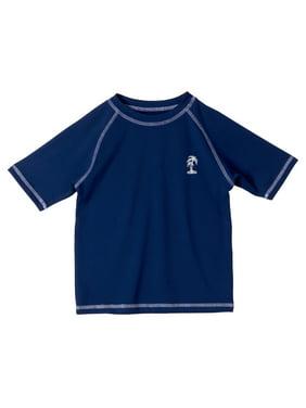 iXtreme Baby Toddler Boy Solid Rashguard Swim Shirt
