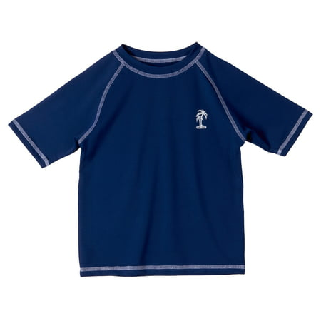 iXtreme Solid Color Rashguard (Baby Boys & Toddler