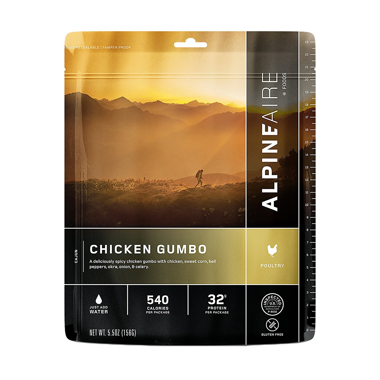 Aire Foods Chicken Gumbo (Serves 2), Chicken Gumbo By Alpine by