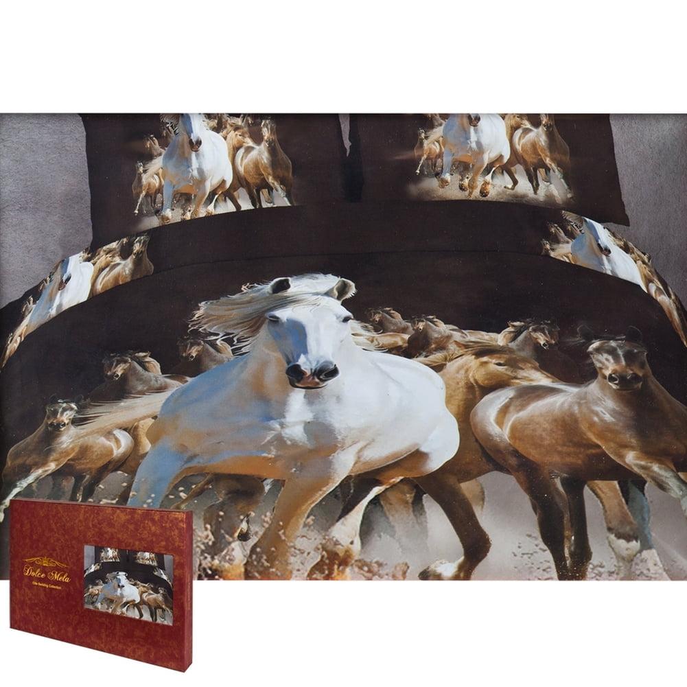 Equestrian Stallions Queen Size Bedding Set Walmart Com Walmart Com