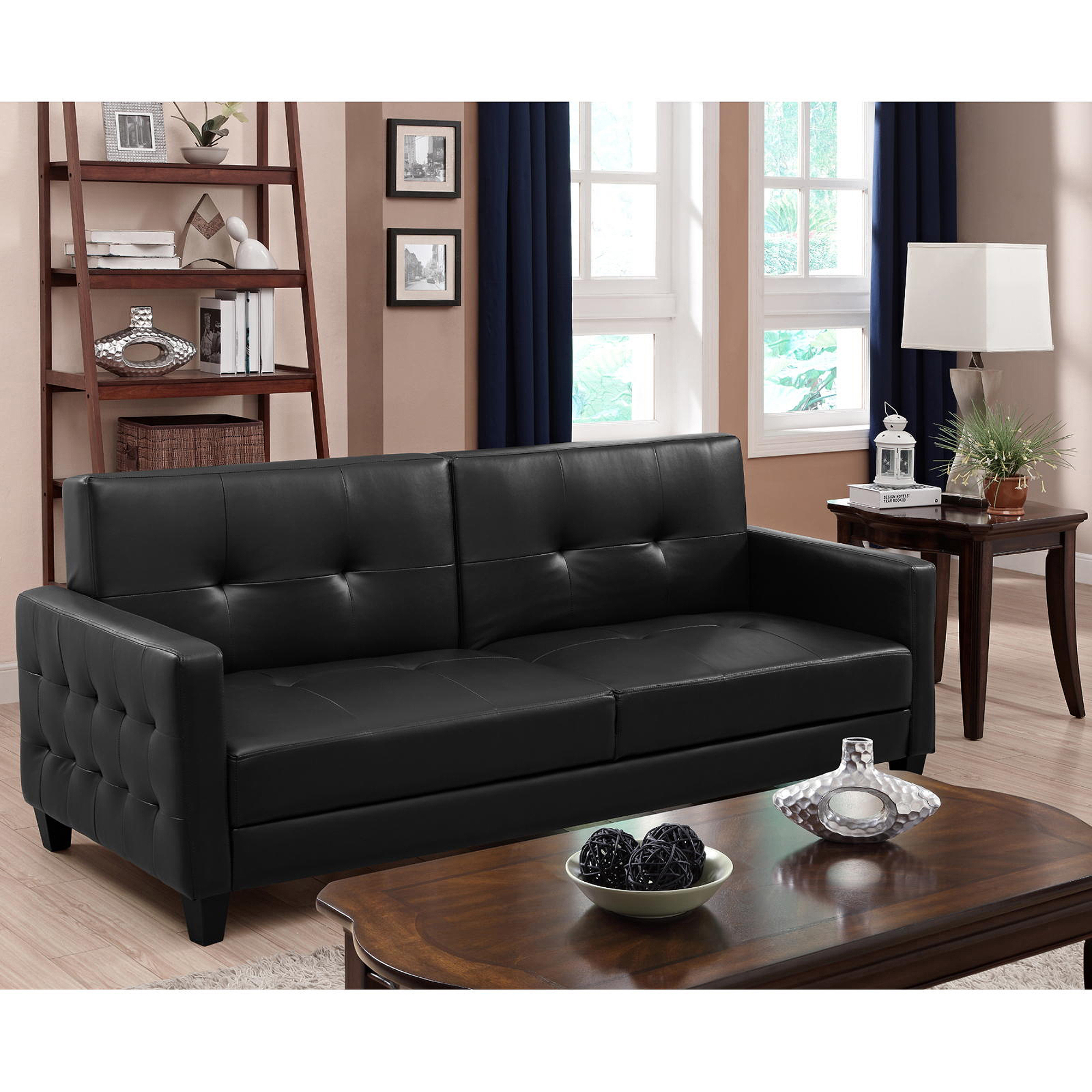 Premium Rome Convertible Futon Multiple Colors Walmart
