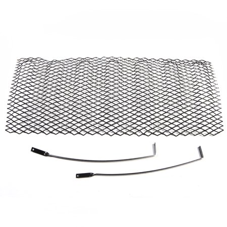 Rugged Ridge 11401.31 Grille Insert  Overlay; Mesh; Without Cutout; Powder Coated; Gloss Black - image 2 of 2