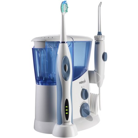 waterpik complete care water flosser power toothbrush combo. Black Bedroom Furniture Sets. Home Design Ideas