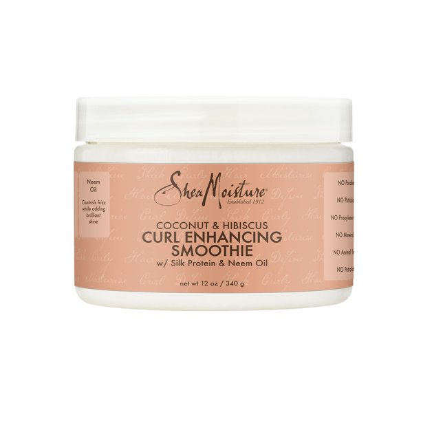 SheaMoisture Coconut & Hibiscus Curl Enhancing Smoothie, 12 oz