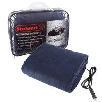 Deals on Stalwart Electric Car Blanket- Heated 12V Polar Fleece Travel Throw