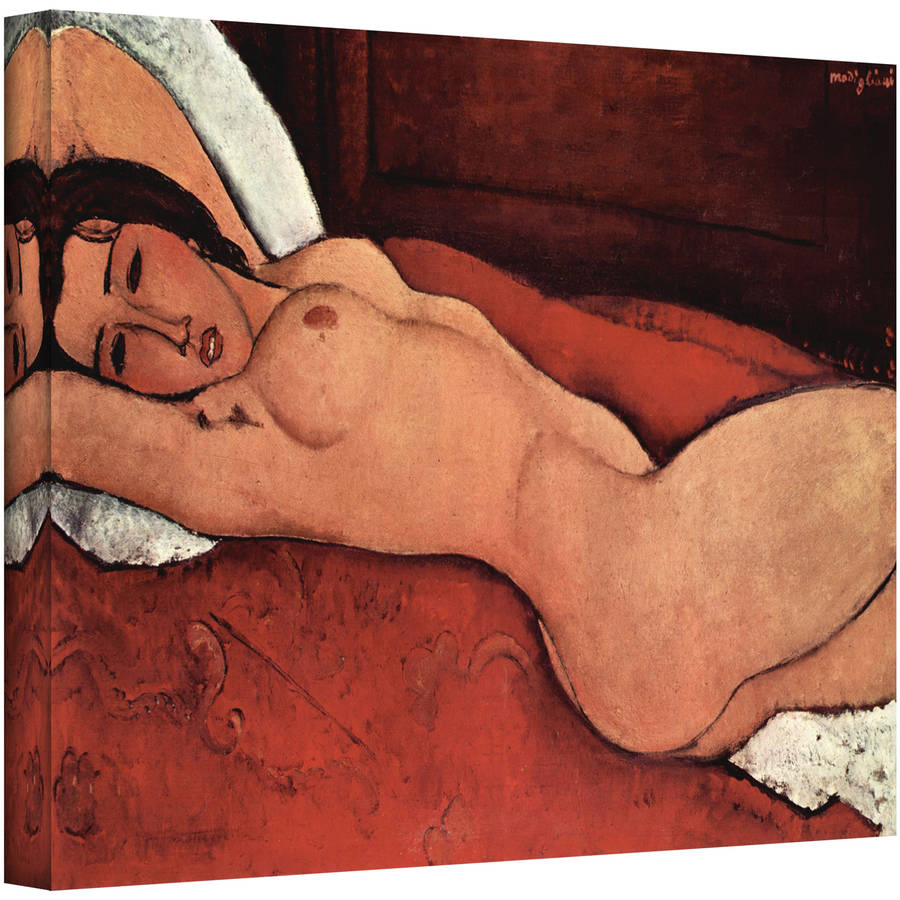 "Amedeo Modigliani ""Portrait of a Nude"" Wrapped Canvas Art"