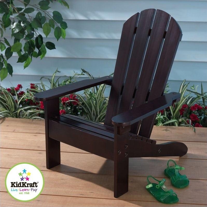 KidKraft Adirondack Chair Espresso by KidKraft