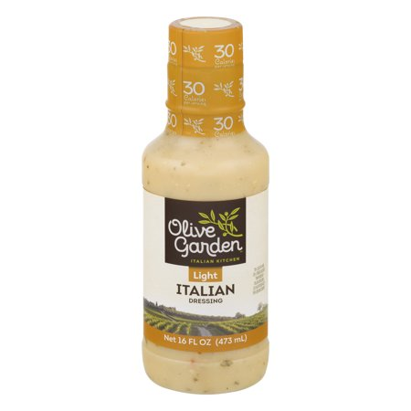 Olive Garden  Light Italian Dressing 16 Fl  Oz  Plastic Bottle