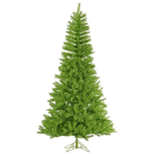 6.5' Fresh Lime Green Artificial Tinsel Christmas Tree - Unlit