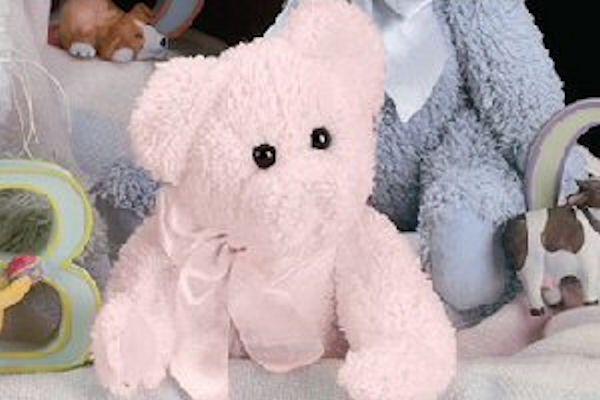 Bearington Baby Plush Collection 1952 Cuddles 10 inch Pink Teddy Bear by Bearington Collection