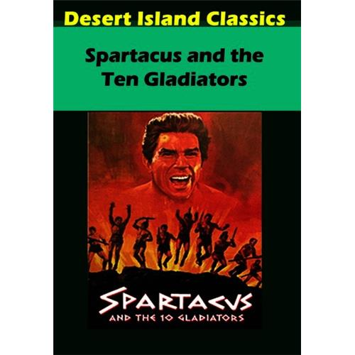 Spartacus and the Ten Gladiators DVD-5