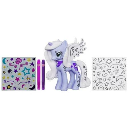 my little pony design a pony princess luna figure. Black Bedroom Furniture Sets. Home Design Ideas