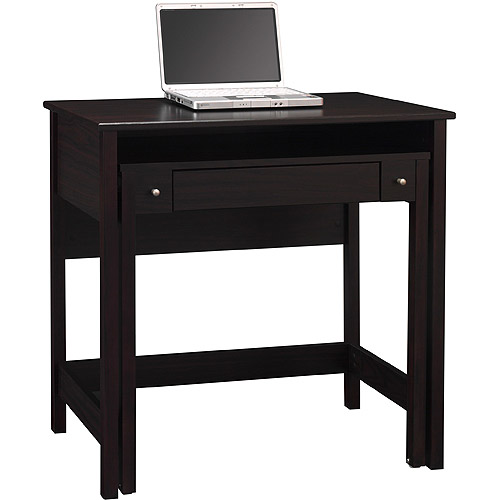 Bush Brandywine Pullout Laptop/Writing Desk, Porter Cherry