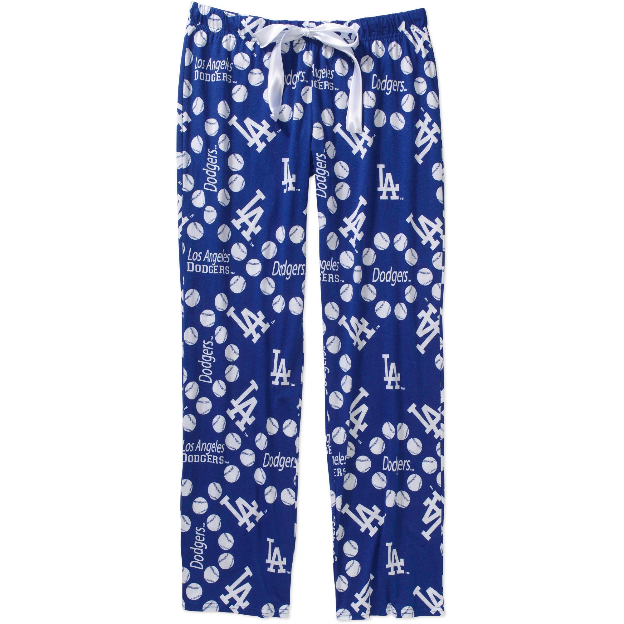 MLB Women's Los Angeles Dodgers Knit Sleep Pants