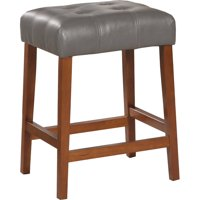 """HomePop 24"""" Square Counter Stool, Multiple Colors"""