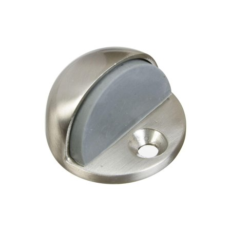 National Hardware Mpb1936 Dome Heavy Duty Low Rise Wall Door Stop  1 3 4 In Dia X 1 11 In H  Satin N
