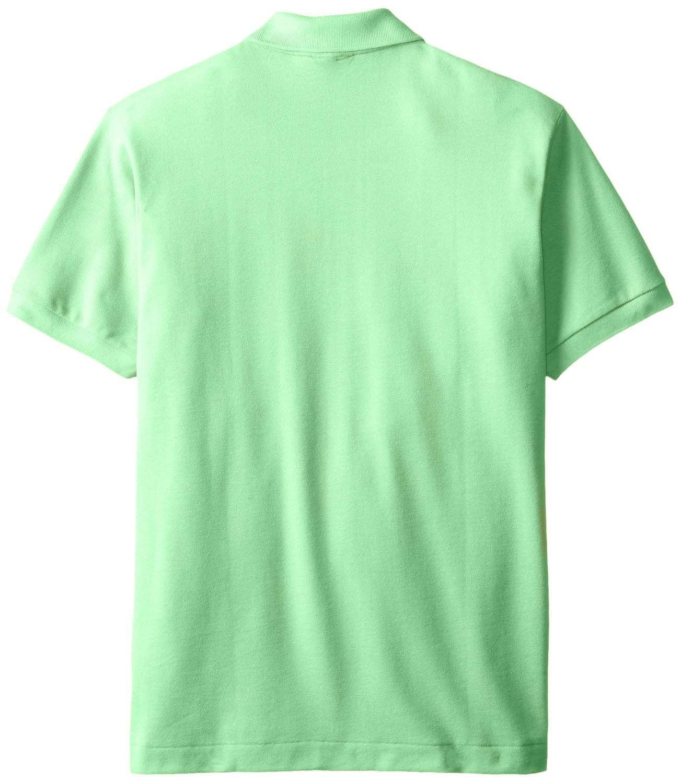 Lacoste Lacoste Mens 2 Button Croc Pique Mesh Polo Shirt