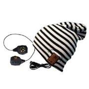 BE Headwear TN0016 24 7 Tall Fit Black White Stripe