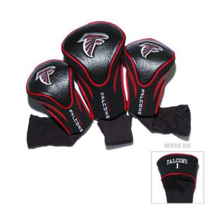 Atlanta Falcons Headcover (Team Golf 30194 Atlanta Falcons 3 Pack Contour Fit)