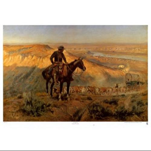 Wagon Boss Poster Print by Charles M. Russell (32 x 22)