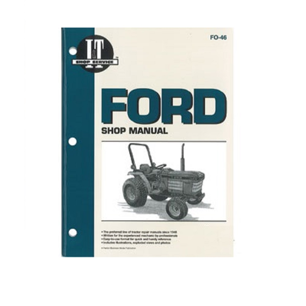 Fo46 New Ford    New Holland Shop Manual 1120 1220 1320