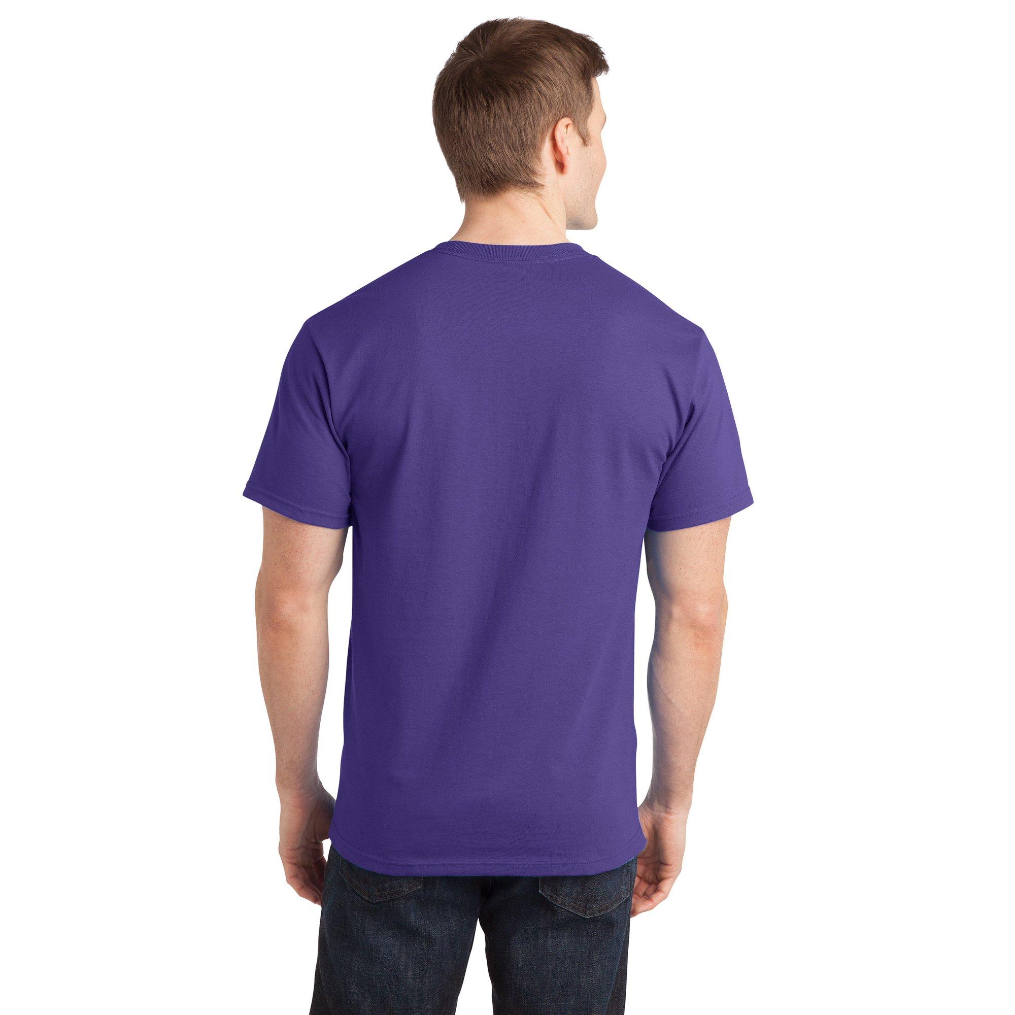 c8641aa0a Sportoli Men's Essential Basic 100% Cotton Crew Neck Short Sleeve Long T- Shirt