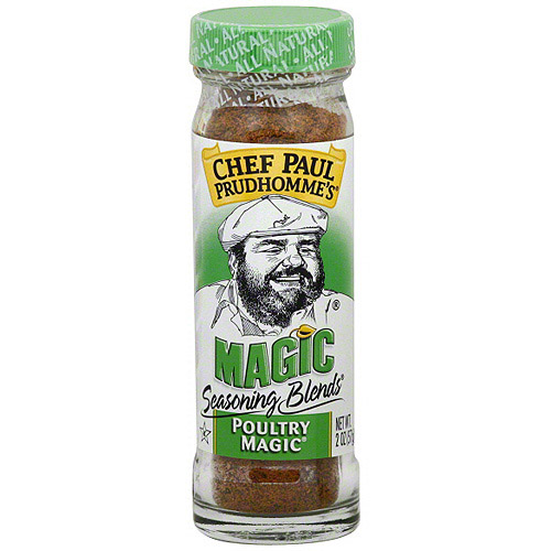 Chef Paul Poultry Magic Seasoning, 2 oz (Pack of 6)