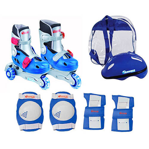 Chicago Skates Boys' Training Inline Skate Combo, Sizes J10-J13