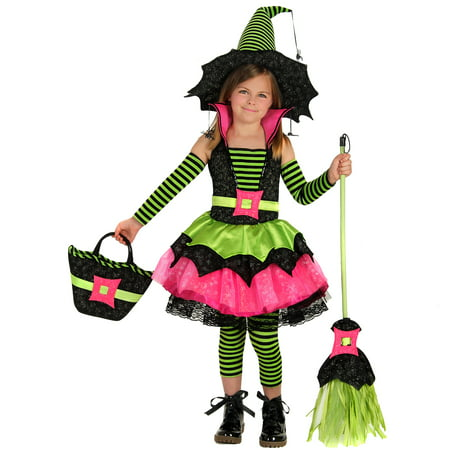 Princess Paradise Premium Spiderina Child Costume - Spiderina Witch Costume