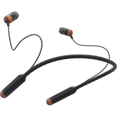 House of Marley, Smile Jamaica Wireless In-Ear Bluetooth Headphones - Noise Isolating In-line Microphone, Long Battery Life, Sweat Resistant, Premium Sound, Multiple Size Ear Gels, (House Of Marley Riddim On Ear Headphones)